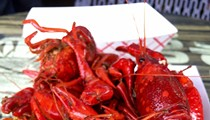 Stuff yourself with all-you-can-eat crawfish at Ferg's Depot this weekend