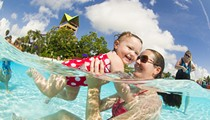 World's Largest Swimming Lesson teaches basics of water safety at SeaWorld's Aquatica