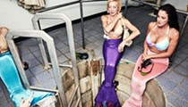 Mermaids that are paid by the State of Florida featured in Vogue magazine