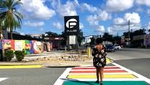 Crews finish installing Orlando's new rainbow crosswalk near Pulse