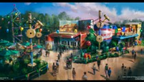 Disney releases details on novelty-sized snack kiosk at Toy Story Land