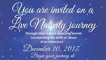 A Live Nativity Journey