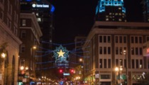 Orlando's Jack Kazanzas Christmas star comes to downtown this weekend