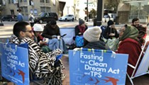 Activists are fasting outside Marco Rubio's Orlando office for immigrant protections