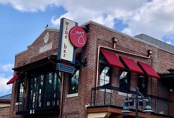 Wine Bar George Opened Last Weekend In Disney Springs Blogs