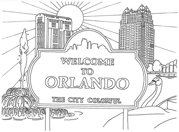 Local Artist Jen Jedlicka Turns Iconic Orlando Scenes Into