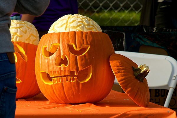 Aiga Sponsors A Charity Pumpkin Carving Contest At Guts