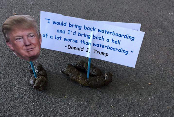 Florida artist decorates dog poop with Donald Trump quotes | Blogs