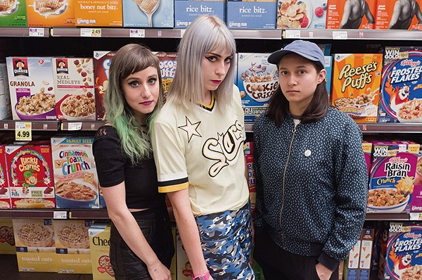 potty mouth revive the ghost of grunge at the social this