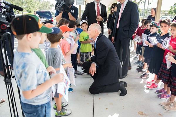 Weekly Calendar Counter : Gov scott calls for increased security funding at jewish