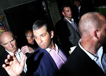 Donald Trump Jr. spreads conspiracy theory about Florida voter fraud that debunks itself