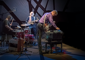 Nels Cline plays Orlando as part of an all-star improv trio