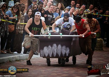 Sanford's Sofas & Suds competition returns for wacky, boozy street racing
