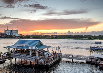 The Boathouse was the only Orlando spot to make OpenTable's '100 Most Scenic Restaurants in America'