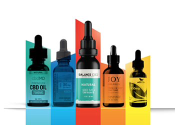 What are the 10 best CBD oil companies on the market right now?