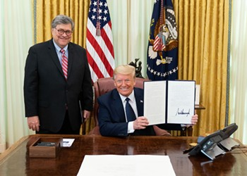 Even if Trump loses in November, Bill Barr will torch the Constitution on the way out