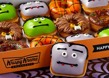Orlando Krispy Kremes offer 'Sweet or Treat' discount on scary donuts through Halloween