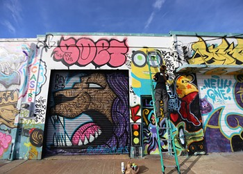 Orlando's West Art District might be forced to cover up its murals