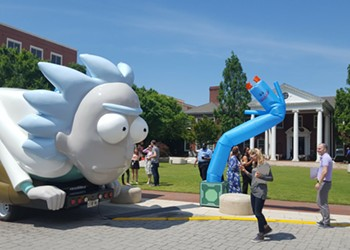 Just a reminder that the 'Rick and Morty' Rickmobile is in Orlando today