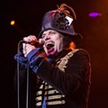 Adam Ant returns to the Beacham for make-up date from Hurricane Irma