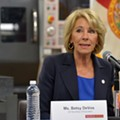Betsy DeVos ignored students' questions while visiting Marjory Stoneman Douglas