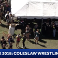 WESH sent a helicopter to cover coleslaw wrestling at Daytona's Bike Week
