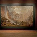 Albert Bierstadt's massive 'Domes of the Yosemite' may be the biggest thing to happen to the Morse in years
