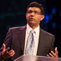 After mocking Parkland survivors, Dinesh D'Souza will speak at Florida GOP event in Orlando