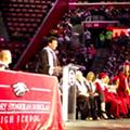 Jimmy Fallon makes surprise visit at Marjory Stoneman Douglas graduation