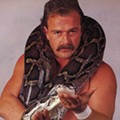 "Wrestling legend Jake ""the Snake"" Roberts slithers into the Abbey to tell all"
