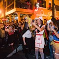 Wall Street Plaza is the epicenter of three nights of Halloween madness