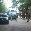 Shots were fired after a SWAT team shuts down block in downtown Orlando