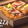 KFC wants to replace all bread with meat, introduces new fried chicken pizza