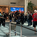 A man detained in 'security incident' at Orlando International Airport causes massive panic