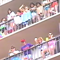This 1986 news brief on 'rowdy' spring breakers at Daytona Beach belongs in a museum