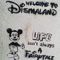 Rumor has it that Banksy is opening a mock Disney park this week
