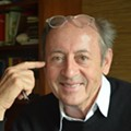 Former Poet Laureate Billy Collins judges four local writers in Literary Death Match at Mad Cow Theatre