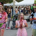 Bring the whole undead family to Zombietoberfest in Audubon Park on Saturday