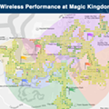 Heat map: Where to find the best mobile coverage at Walt Disney World