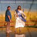 The Holy Land Experience was forced to remove an illegal mural