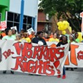 Fight for $15 protesters take over International Drive