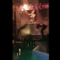 Fire-breathing mermaid's face catches fire during St. Augustine show