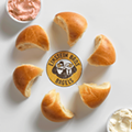 Einstein Bros. new pull-apart bagel laughs in the face of bagel-slicing purists