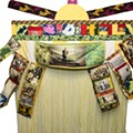Lynn Marshall-Linnemeier enshrines the fabric of community in her Yoruba robes