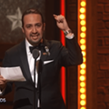 Lin-Manuel Miranda reads sonnet for Orlando in his Tony acceptance speech