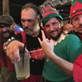 Bad Santa & the Angry Elves celebrate a summery Yuletide at St. Matthew's Tavern