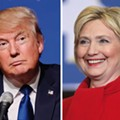 New poll shows Trump currently leading Hillary in Florida