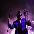 Puscifer, Maynard Keenan's artsy side project, will be at the Bob Carr tonight