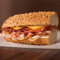 If all else fails, there's always the Publix Turkey Cranberry Holiday Sub