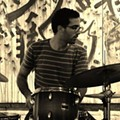Meatwound and Merchandise drummer Leo Suarez teams up with Jim Ivy and Elizabeth A. Baker at the Nook